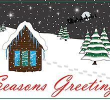 Seasons Greetings red by BiGPaPa