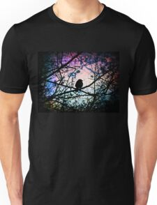 Stain Glass Bird Unisex T-Shirt