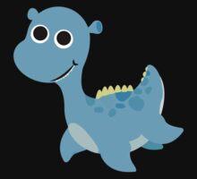 Cute little Loch Ness Monster Kids Tee