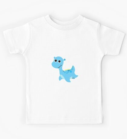 Cute little Loch Ness Monster Kids Tee