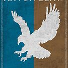 Game of Thrones Banner - Ravenclaw by Serdd