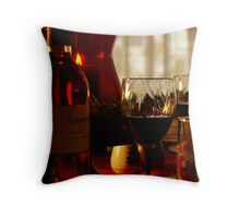 Glass of Wine anyone? Throw Pillow
