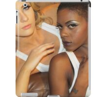 Make-up models iPad Case/Skin