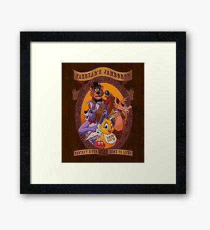 Fazbear's Jamboree Framed Print