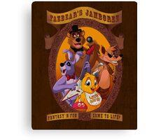 Fazbear's Jamboree Canvas Print
