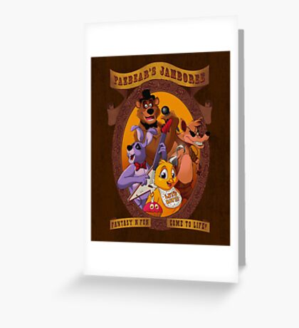 Fazbear's Jamboree Greeting Card