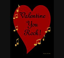 VALENTINE YOU ROCK! Womens Fitted T-Shirt