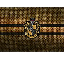 Hufflepuff Knitted Photographic Print