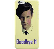Tribute to Matt Smith's Doctor iPhone Case/Skin