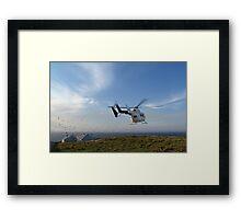 Helicopter Island Framed Print