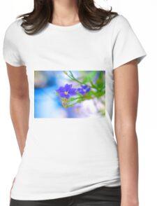 Glasshouse Glory - Dampiera Womens Fitted T-Shirt