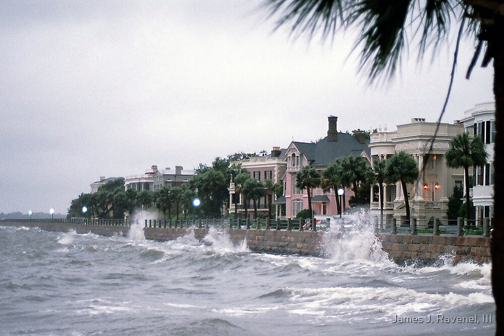 Summer Storm On High Battery by James J. Ravenel, III