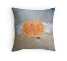 beauty of Ginger Throw Pillow