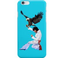 Elvis Hunts with an Eagle iPhone Case/Skin
