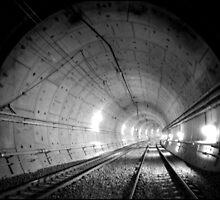 Urban Landscape  #28 Green Square Tunnel by Juilee  Pryor