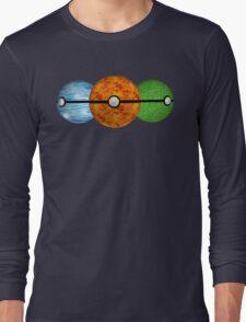 Pokemon Starters Long Sleeve T-Shirt