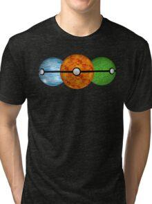 Pokemon Starters Tri-blend T-Shirt