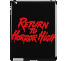 Horror High iPad Case/Skin