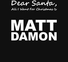 Dear Santa4 Womens Fitted T-Shirt