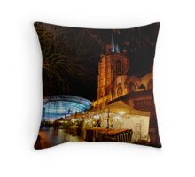Open All Hours Throw Pillow