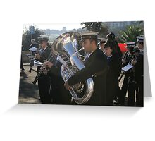 The musician part 2 Greeting Card