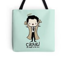 Castiel - Angel of the Lord Tote Bag
