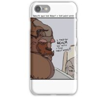 Beauty and the Beast + The West Wing iPhone Case/Skin