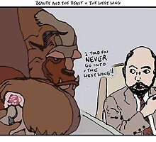 Beauty and the Beast + The West Wing by altanimus
