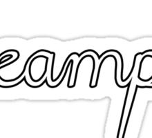 Creampuff White Sticker