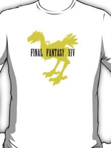 Chocobo FFXIV Yellow T-Shirt