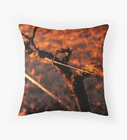 Winter Vine Throw Pillow