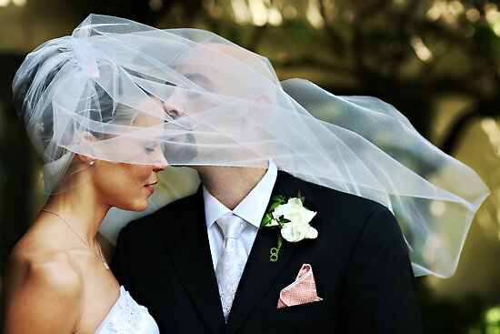 Veiled Kiss by JC Macalino
