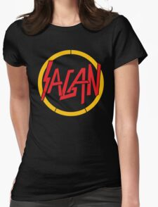 Sagan / Slayer (Monsters of Grok) Womens Fitted T-Shirt