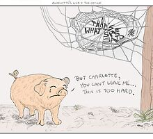 Charlotte's Web + The Office by altanimus