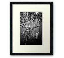 To Office Framed Print