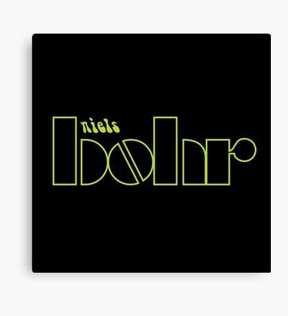Niels Bohr /  The Doors (Monsters of Grok) Canvas Print