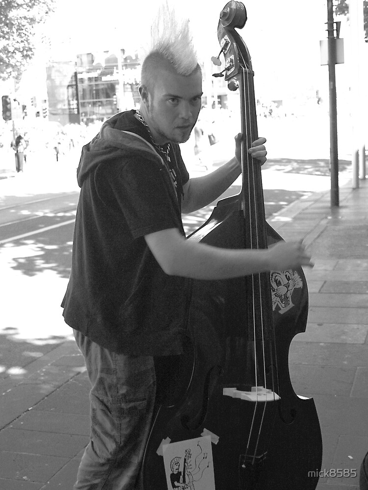 the busker by mick8585