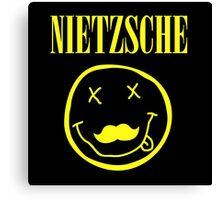 Nietzsche / Nirvana (Monsters of Grok) Canvas Print