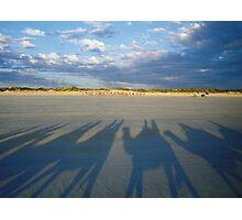 cable beach shadows Photographic Print