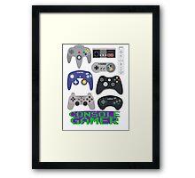 Console Gamer! Framed Print