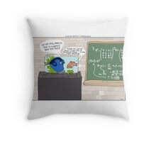 Good Will Hunting + Finding Nemo Throw Pillow