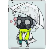 [Clear] What's Under the Mask? iPad Case/Skin