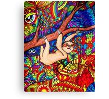 """Sloth"" Canvas Print"