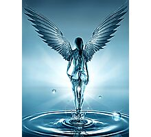 Ocean Angel Photographic Print