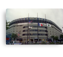 Yankee Stadium II (1976 - 2008) Canvas Print