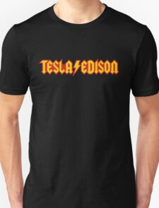 Tesla/Edison vs. AC/DC (Monsters of Grok) Unisex T-Shirt