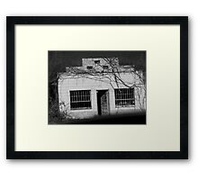 fade to past Framed Print