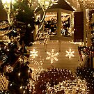 Visiting Santa's House on Christmas Eve by Jane Neill-Hancock