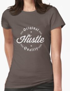 MookHustle Logo Womens Fitted T-Shirt