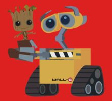 WALL-E and Groot Kids Clothes